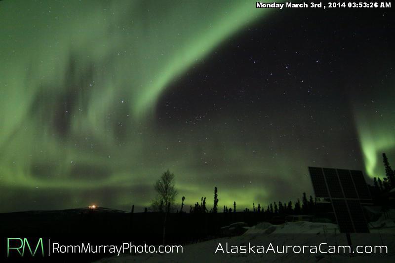 March 3rd - Alaska Aurora Cam