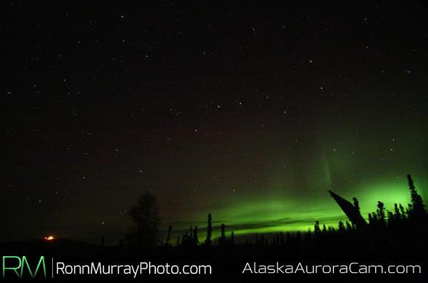 October 8th, Alaska Aurora Webcam