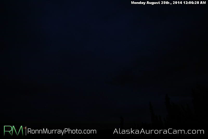 August 24th - Alaska Aurora Cam