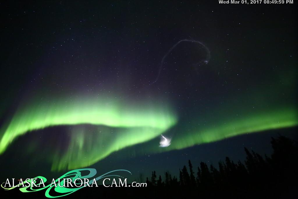 March 1st  - Alaska Aurora Cam
