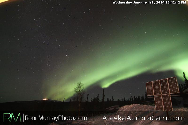 Wind Stream - Jan 2nd, Alaska Aurora Cam