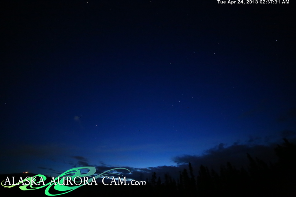 April  23rd  - Alaska Aurora Cam