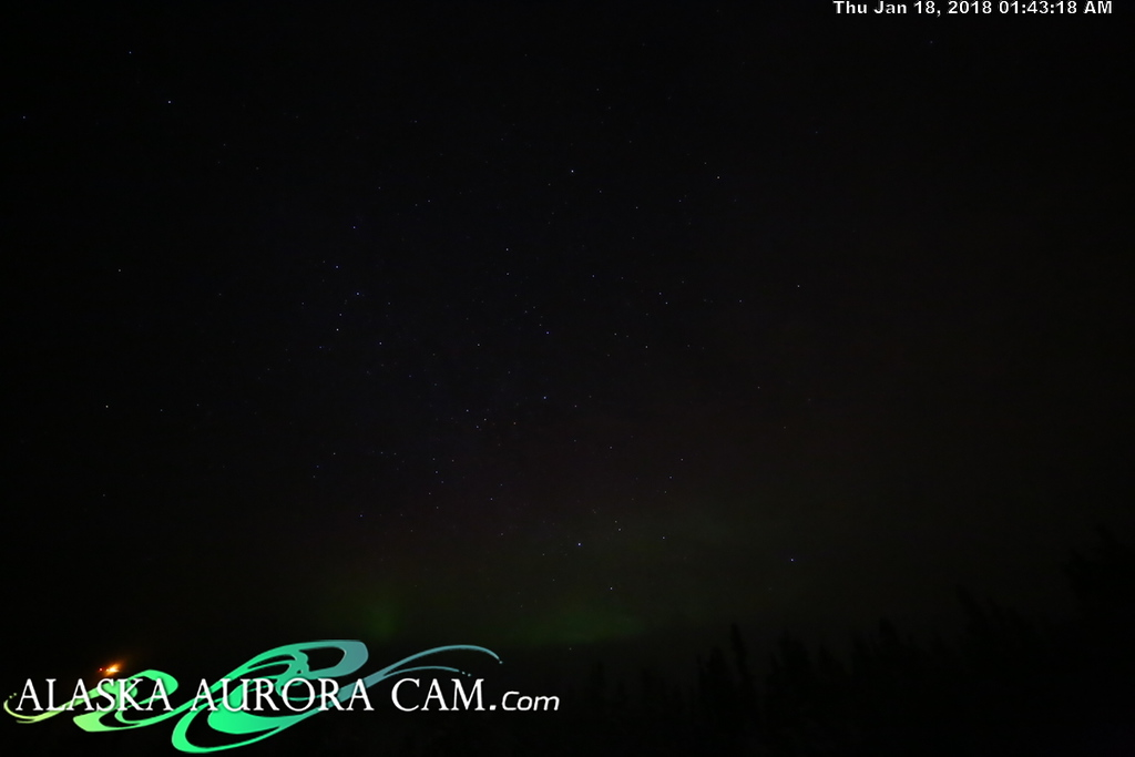 January 17th - Alaska Aurora Cam