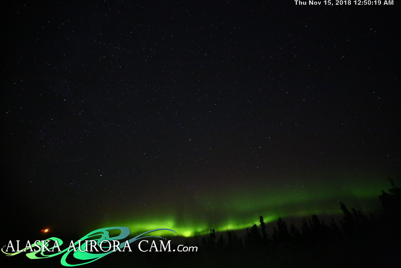 November 14th - Alaska Aurora Cam