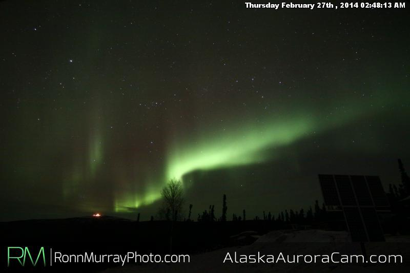 February 27th - Alaska Aurora Cam