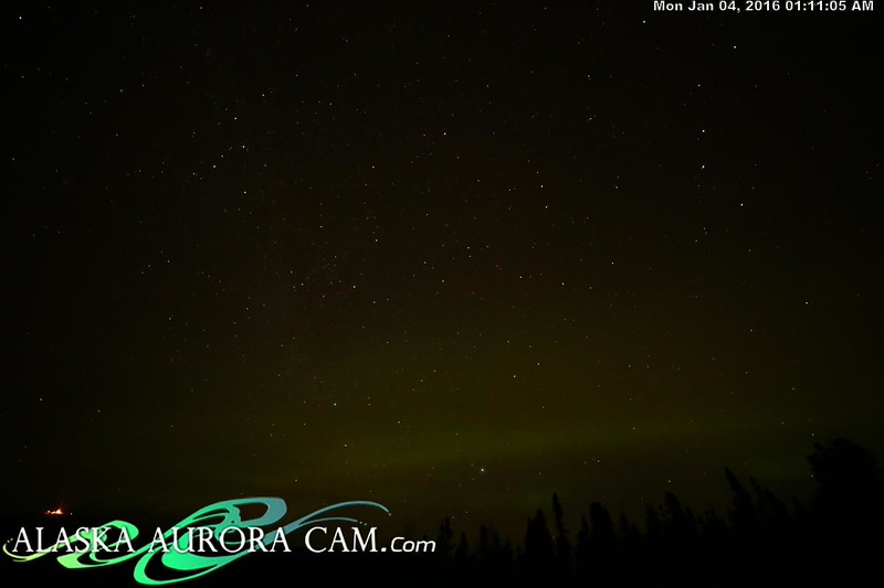 January 3rd  - Alaska Aurora Cam