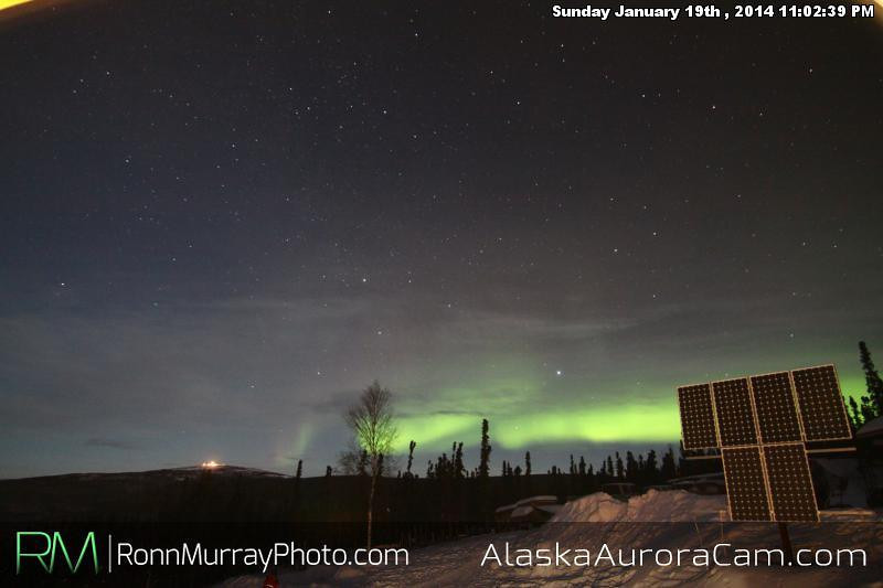Movin' - Jan 20th, Alaska Aurora Cam