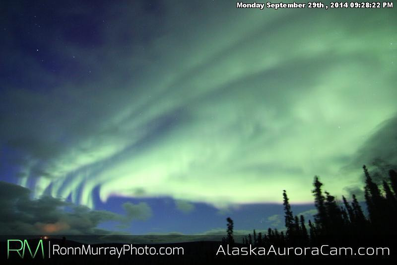 September 29th - Alaska Aurora Cam