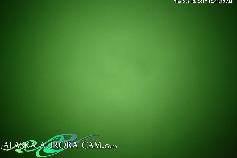 October 11th - Alaska Aurora Cam
