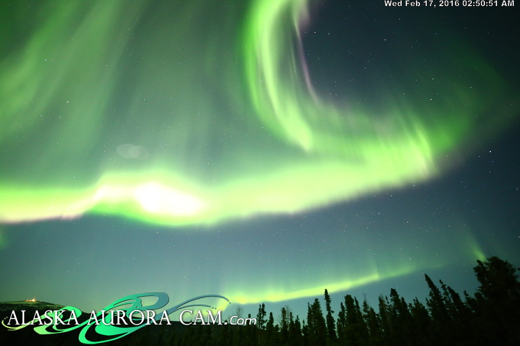 February 16th - Alaska Aurora Cam
