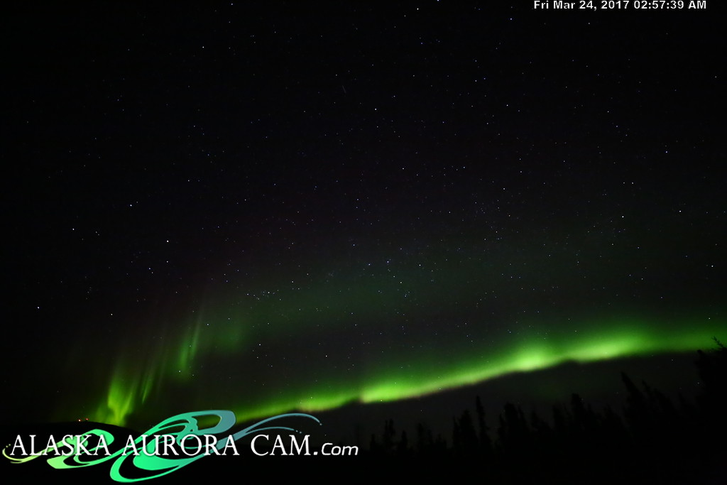 March 23rd  - Alaska Aurora Cam