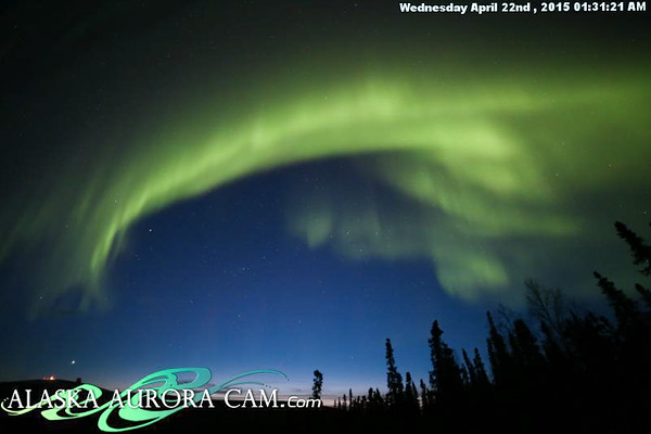 April 21st - Alaska Aurora Cam