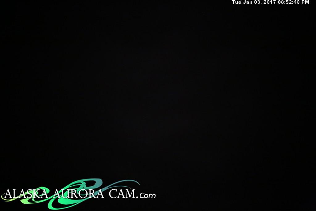 January 3rd  - Alaska Aurora Cam