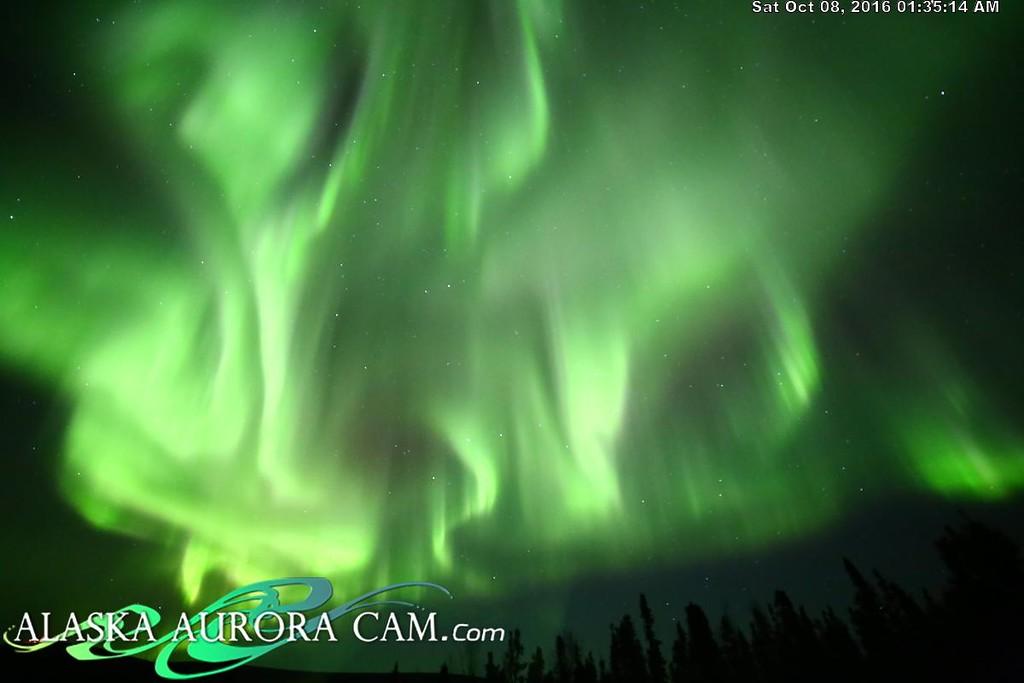 October 7th - Alaska Aurora Cam