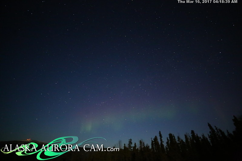 March 15th  - Alaska Aurora Cam
