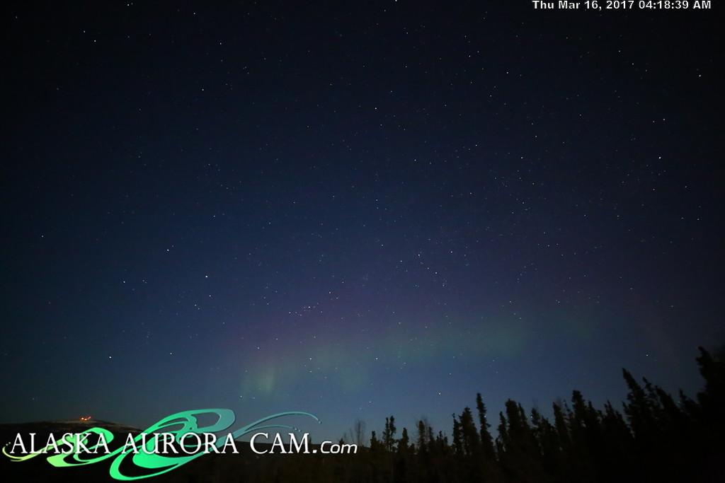 March 15th  - Alaska Aurora Cam