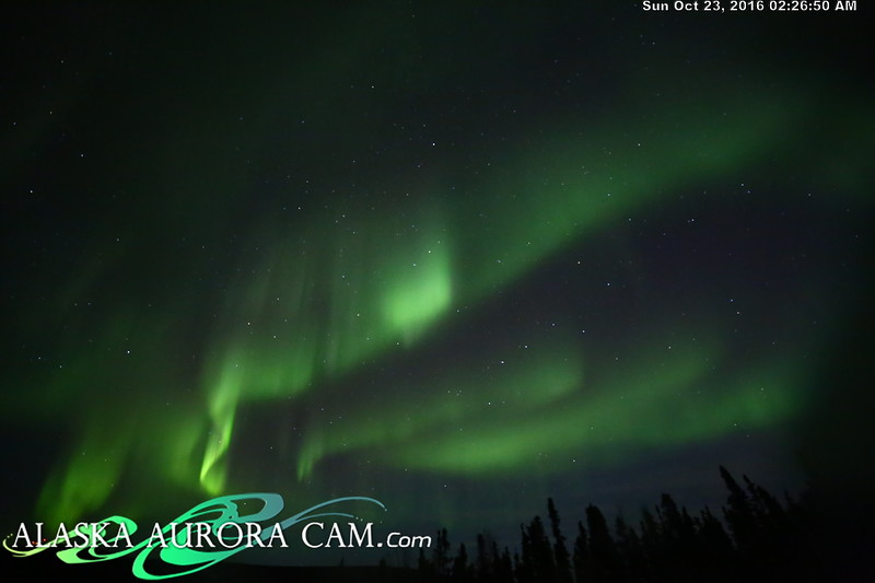 October 22nd  - Alaska Aurora Cam