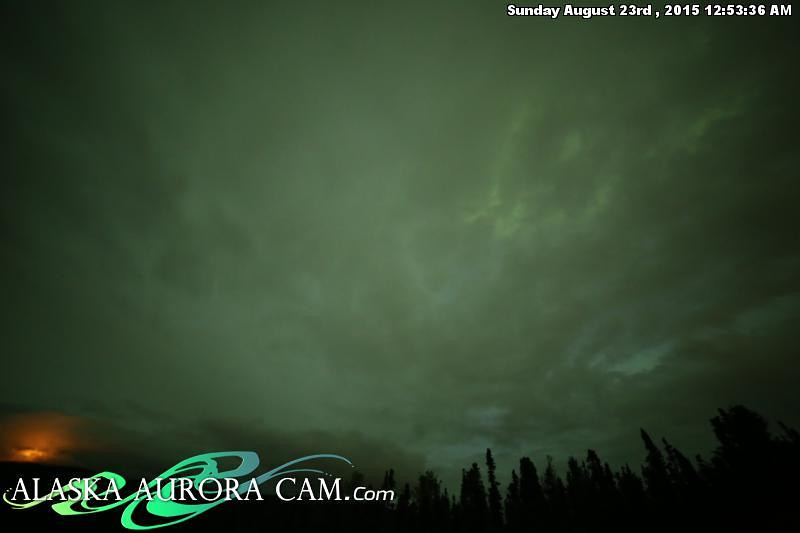 August  22nd - Alaska Aurora Cam