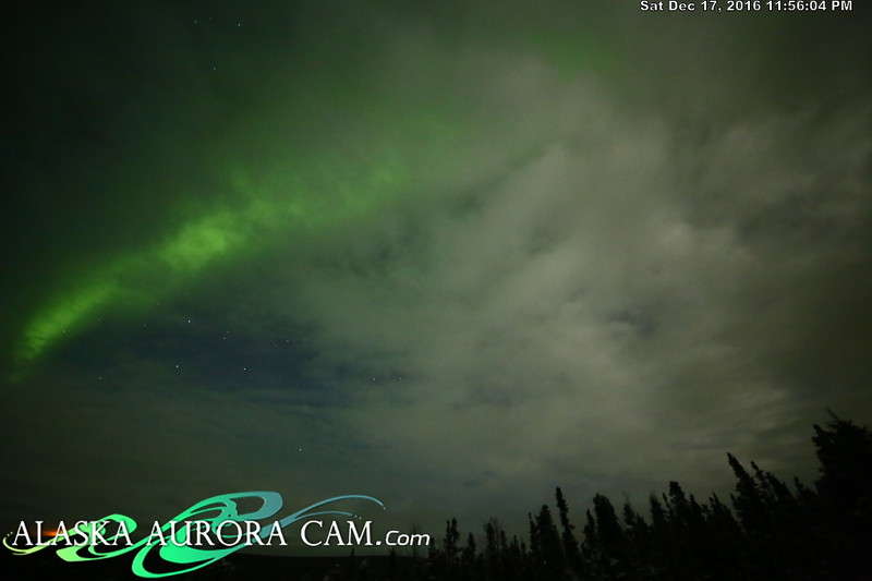December 17th  - Alaska Aurora Cam
