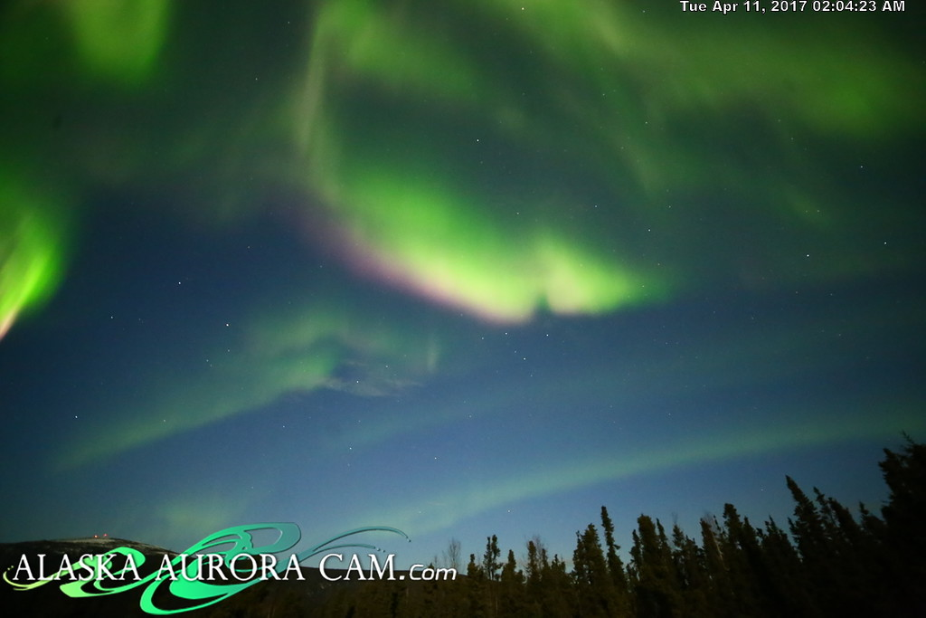April 10th  - Alaska Aurora Cam