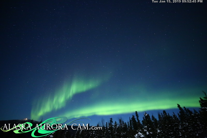 January 15th- Alaska Aurora Cam