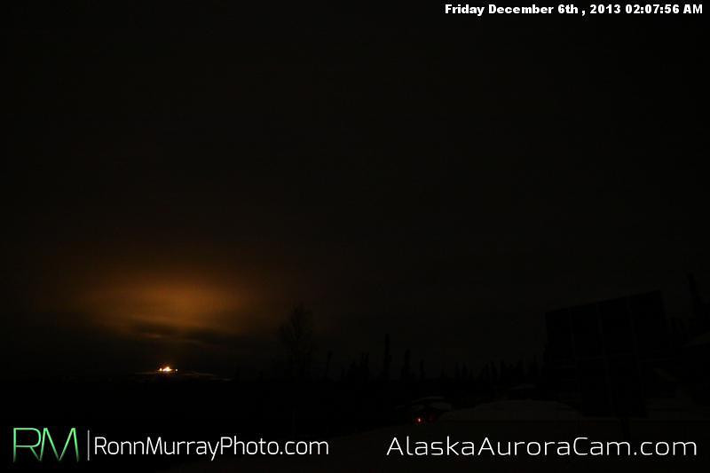Drizzling Drapes - Dec 6th, Alaska Aurora Cam