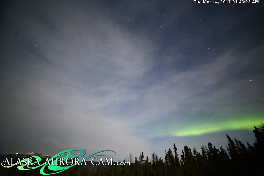 March 13th  - Alaska Aurora Cam