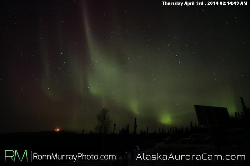 April 3rd - Alaska Aurora Cam