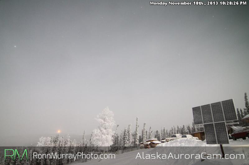 We're Back!!! - Nov 19th, Alaska Aurora Cam
