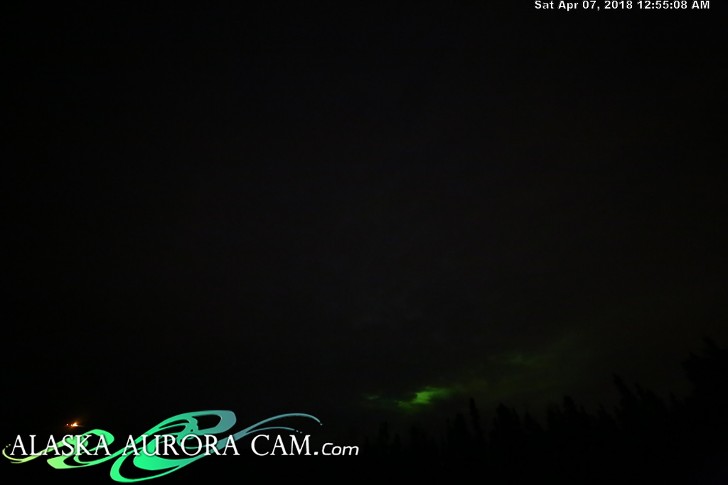 April  6th  - Alaska Aurora Cam