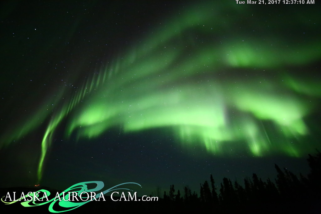 March 20th  - Alaska Aurora Cam