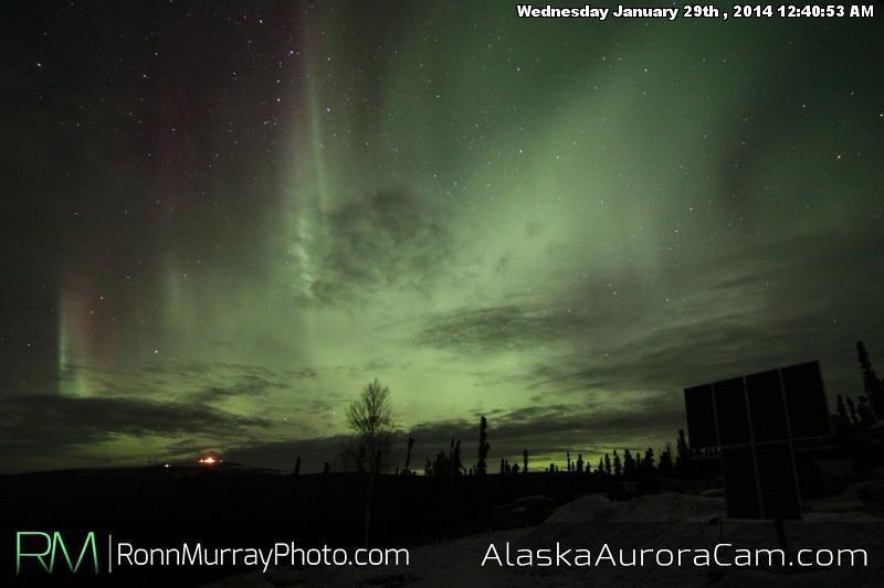 January 29th - Alaska Aurora Cam