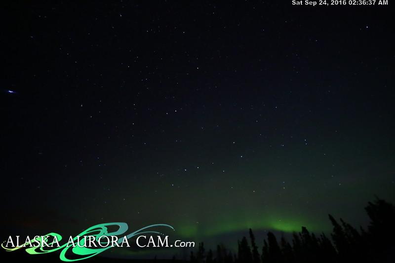 September 23rd - Alaska Aurora Cam