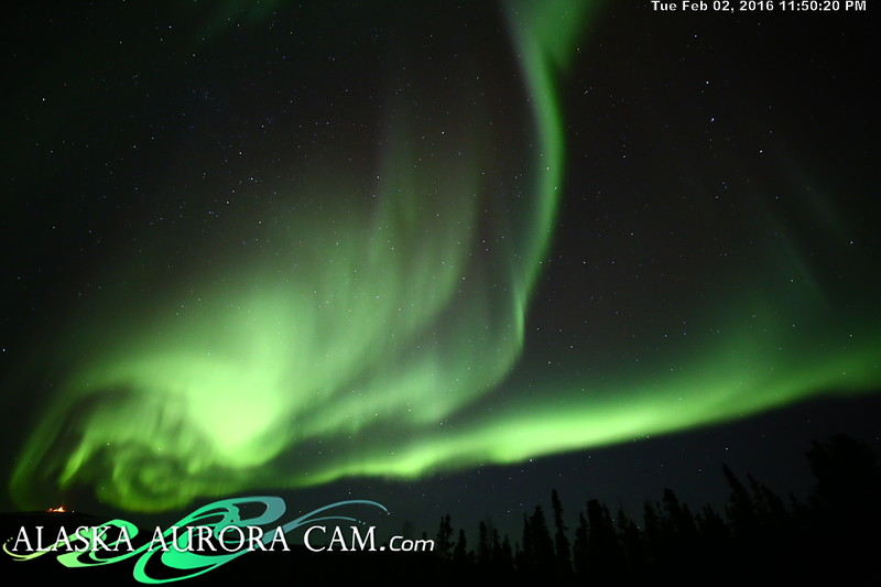 February 2nd  - Alaska Aurora Cam