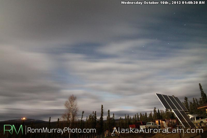 Big Dipper - October 16th, Alaska Aurora Webcam
