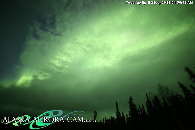 April 20th - Alaska Aurora Cam