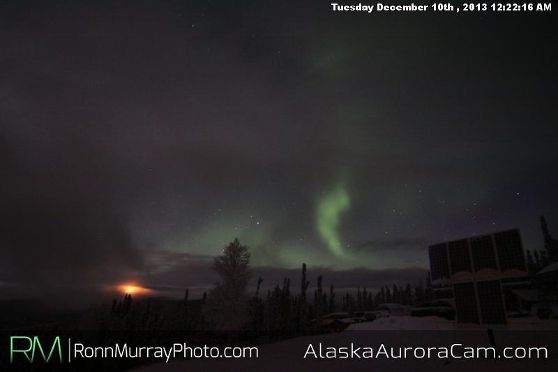 Covered in Clouds - Dec 10th, Alaska Aurora Cam
