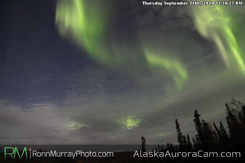 September 10th - Alaska Aurora Cam