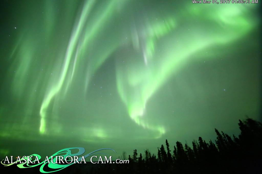 February 28nd  - Alaska Aurora Cam