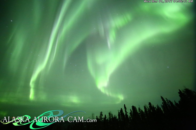 February 28nd  - Alaska Aurora Cam