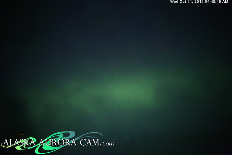 October 30th - Alaska Aurora Cam