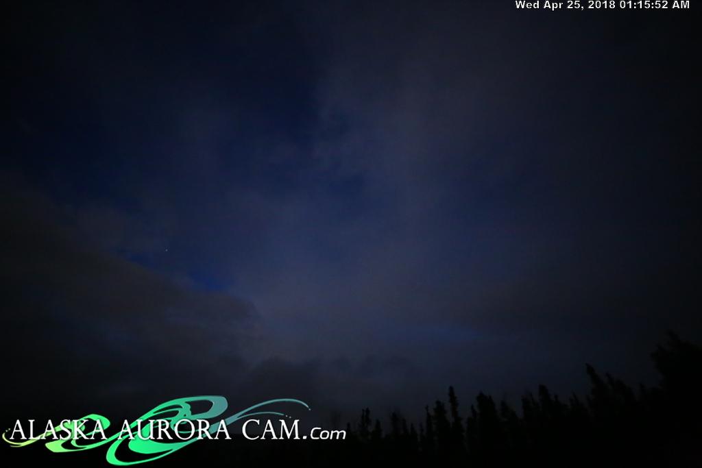 April  24th  - Alaska Aurora Cam