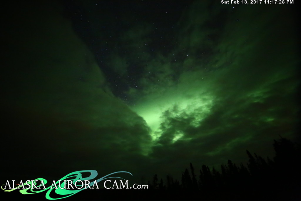 February 18th  - Alaska Aurora Cam