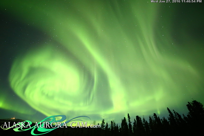 January 27th  - Alaska Aurora Cam