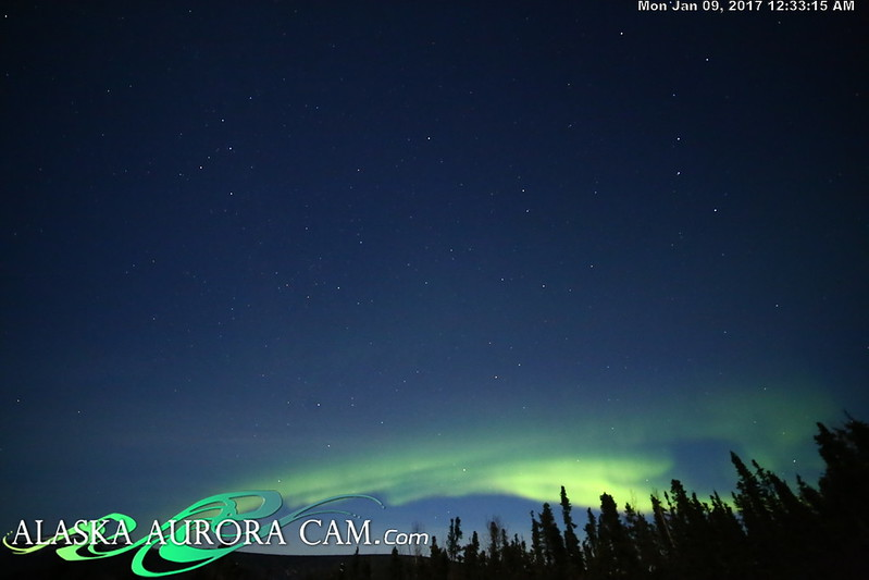 January 8th  - Alaska Aurora Cam