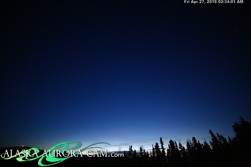 April  26th  - Alaska Aurora Cam