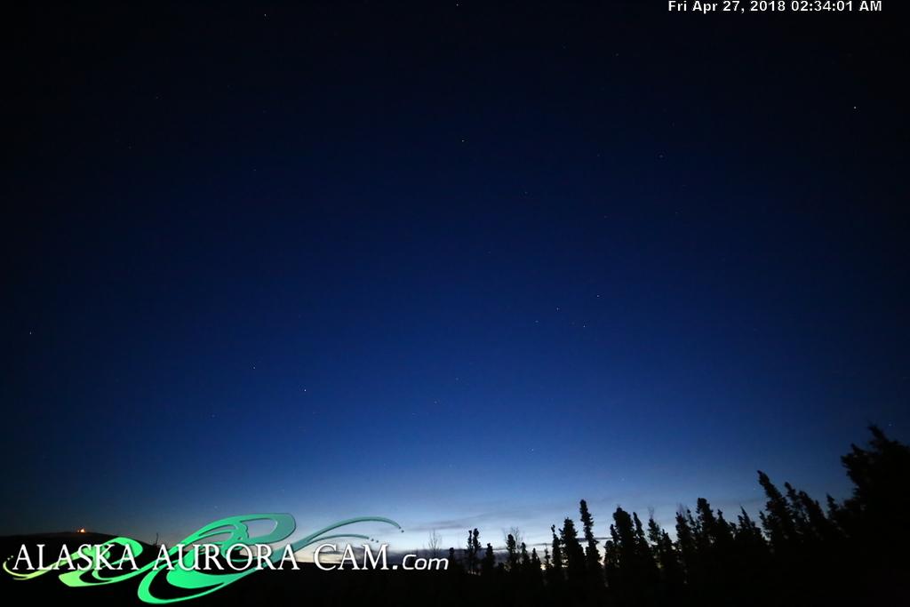 April  26th  - Alaska Aurora Cam