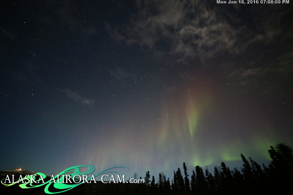 January 18th  - Alaska Aurora Cam