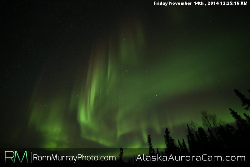 November 13th - Alaska Aurora Cam