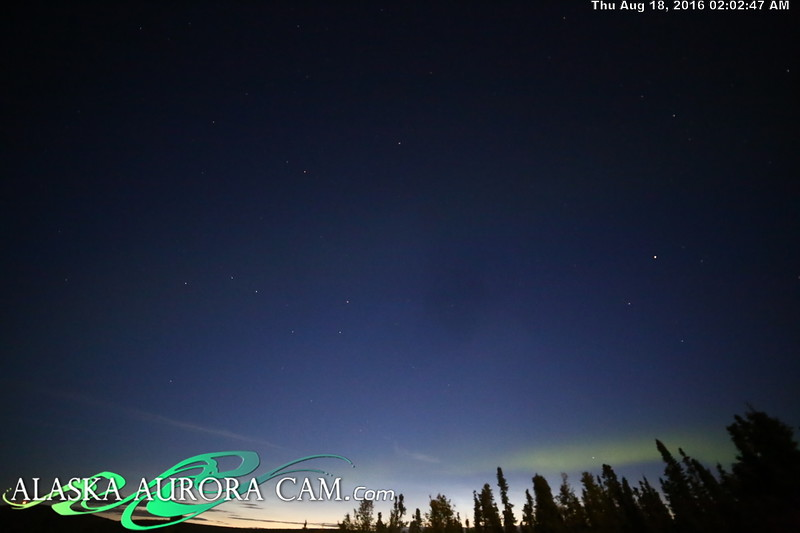 August 17th - Alaska Aurora Cam